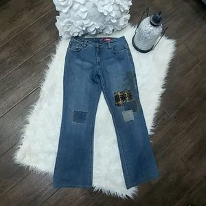 Dorothee Bis Patchwork Denim Jeans
